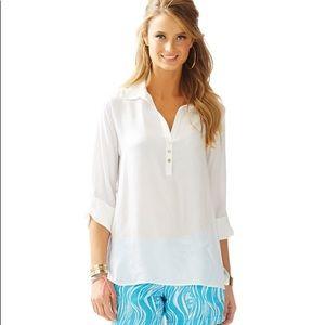 Lily Pulitzer Everglades popover tunic